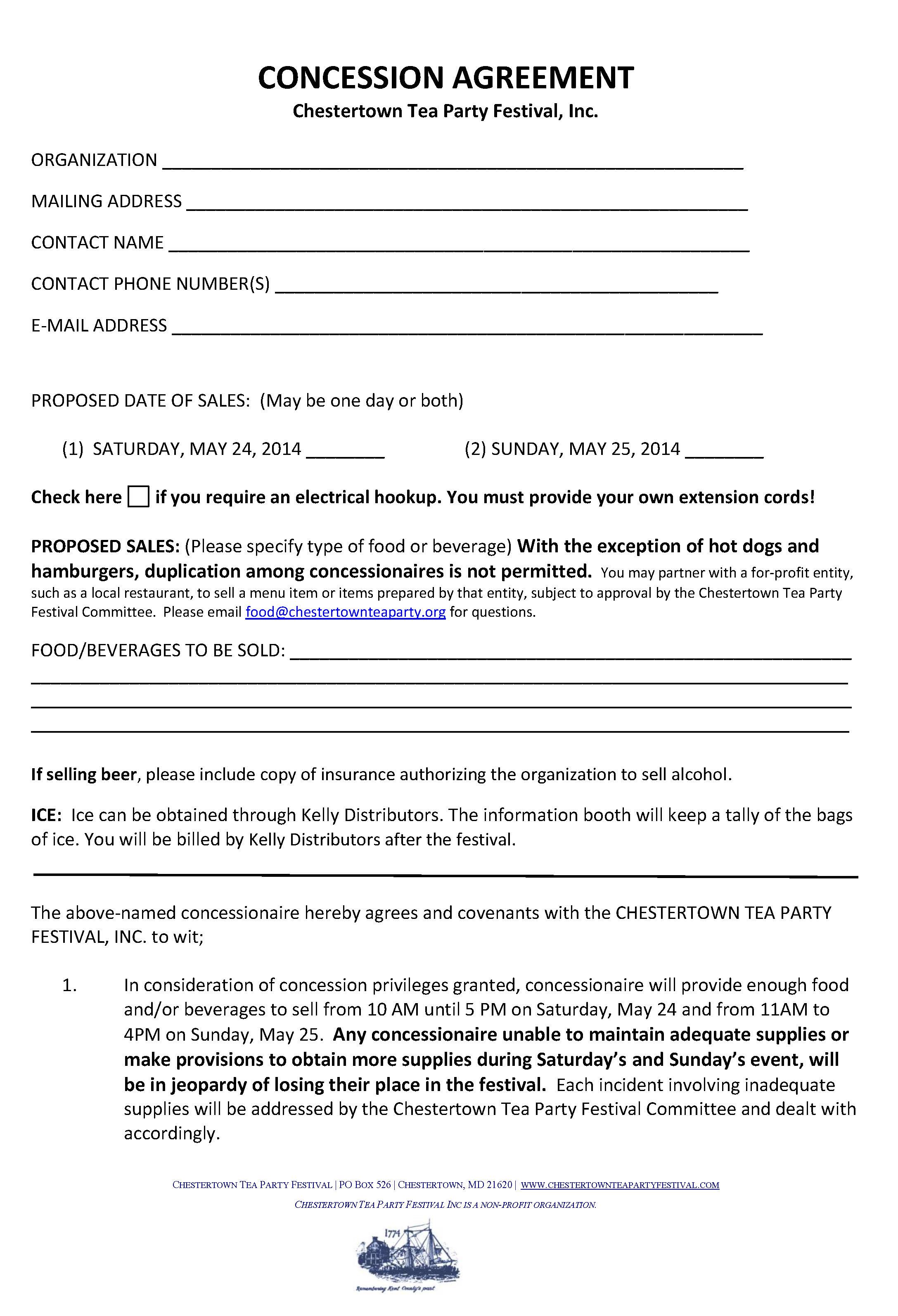 Doc.#585550: Event Vendor Contract Template – Sample Vendor ...