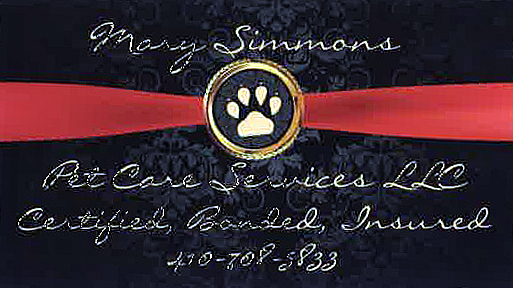 Mary Simmons Pet Care Services